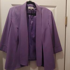 Jones Studio Purple Blazer